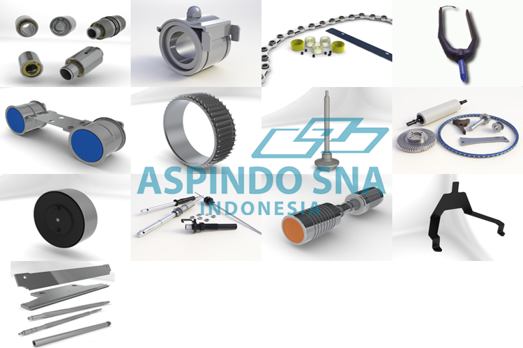 MECHANICAL COMPONENTS AND SPECIAL BEARINGS