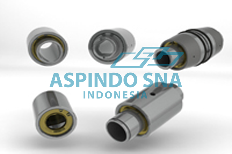 AXIAL BEARINGS FOR FINISHER